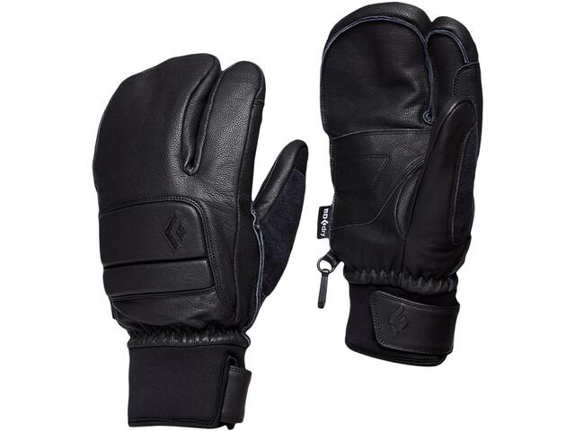 Black Diamond Spark Finger Gloves Women, negro